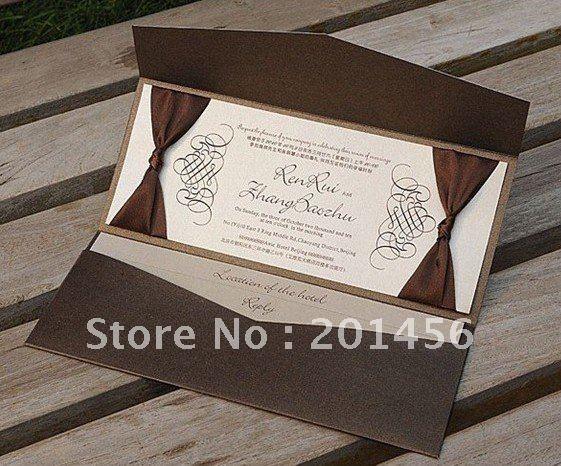 Customize Invitation card. Wedding cards, W1117, wedding