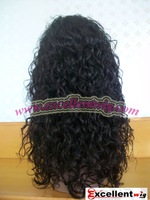 "#2 16"" Curly wave Full Lace wigs in stock"