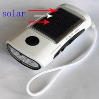 Free Shipping 20pcs/lot Solar Radio with FM, Solar Torch, 4LED  Flashlight, Phone Charger +Free Shipping