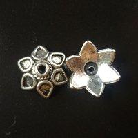 800 pcs/lot alloy bead caps Free shipping