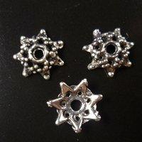 1000 pcs/lot alloy bead caps Free shipping