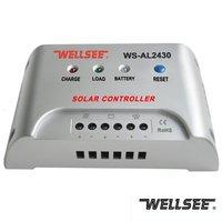 WS-AL2430 30A 12/24V solar light controller