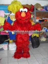 love red elmo Mascot Costume Party Carnival free ship(China (Mainland))