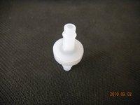 "1/4"" PVDF VITON  diaphragm non return valve"