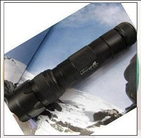 Ultrafire WF-502B 5 file 5 file Flashlight Q5 flashlight dimming flashlight set