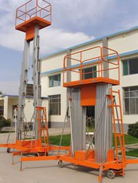 "aluminum alloy hydraulic lift Portable lifting platform the good faith as this ""the quality first(China (Mainland))"