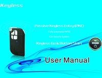 ( HOT SALE PKE001A )RFID  Car Security System