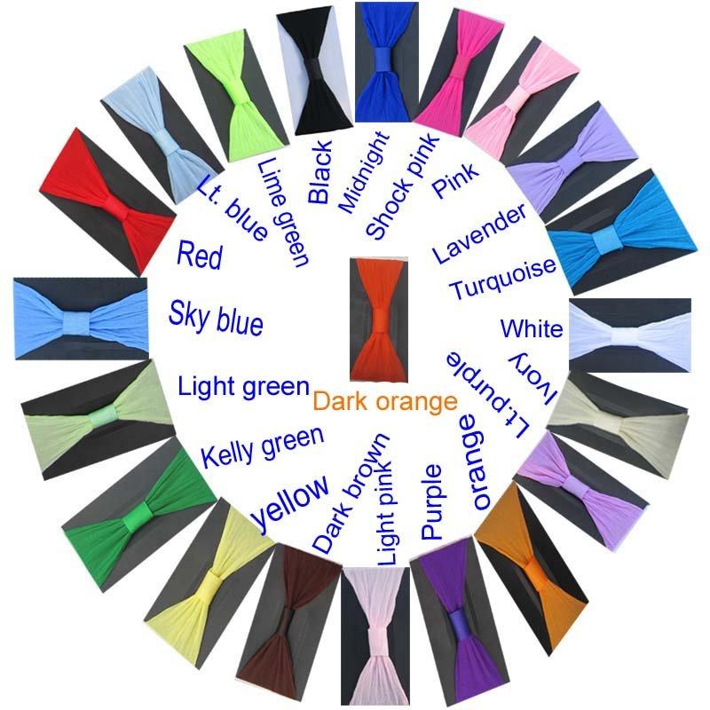 Free shipping!! 36PCS/LOT 2.5'' pantyhose nylon headband baby headbands can mix order(China (Mainland))