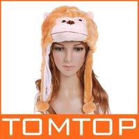 моды фестиваля мультфильм животных шляпу плюшевых мягких теплых Привет Китти Зимняя шапка