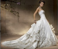 free shipping 2010 New style! Custom-Made Wedding Dresses bridal dress / Formal Gown /Evening Prom Dress