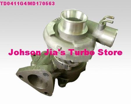 NEW TD0411G4/MD170563 Turbocharger for Mitsubishi Pajero SHOGUN 1987,1990-1997 Engine:4D56 2.5L(China (Mainland))