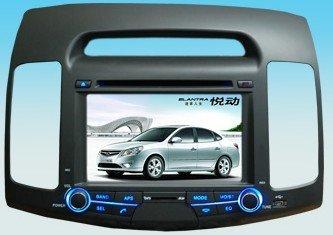 Hyundai ELANTRA auto dvd player com sistema de navegação gps do carro ELANTRA player de rádio built in ELANTRA(China (Mainland))
