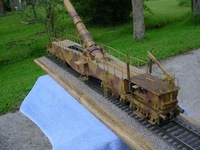 [Alice papermodel] Long 1 meter 1:35 World War II German Leopold railway gun super big cannon models