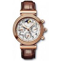 NEW ARRIVAL Da Vinci Rose Gold Moonphase Brown Mens Watch 3758-11