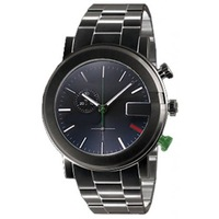 NEW ARRIVAL 101G Black PVD Steel Mens Watch YA101331