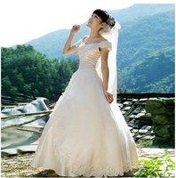 popular princess wedding dress elegance evening gown halter dress