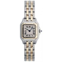 NEW ARRIVAL Panthere Yellow Gold and Steel Ladies Watch W25029B6