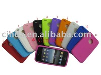 10pcs/lot& Free shipping New silicon case for iphone 4G cover for phone 4G , silicon case ,silicon cover cover