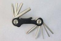 Coloury Bicycle Mini Tools 10 Function W/Opener Dog  Bone Housing MT-101B
