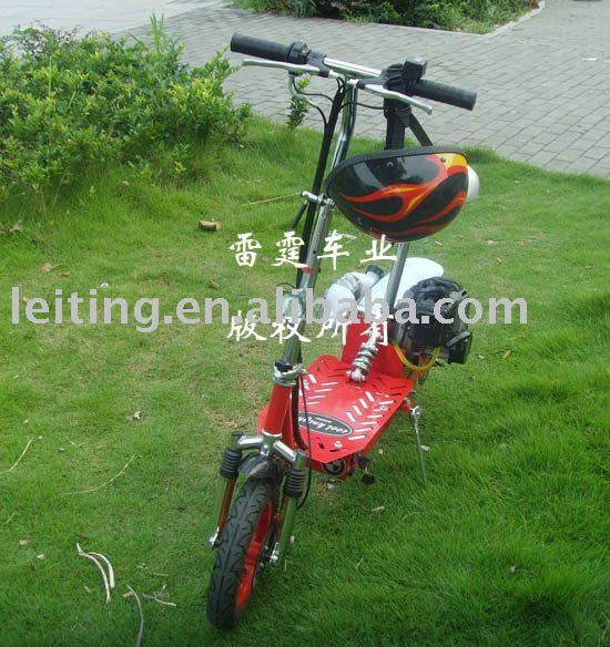 two function dirt bike 36V foldable electric and gas scooter/MINI MOTOR(China (Mainland))