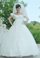 Han popular princess wedding dress pregnant woman gown elegance dress