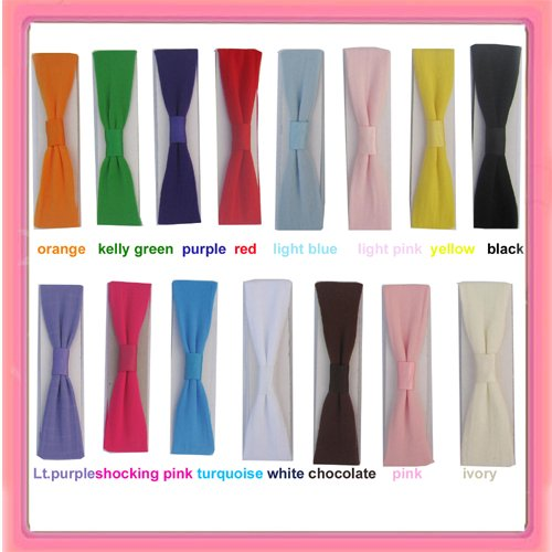 1.5'' nylon headbands,hair bands,36pcs/bag(China (Mainland))
