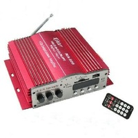 F577B 4 Channel USB SD + FM With TDA7388 or TDA2005 Double Motocycle Amplifier MP3 Remote Control Car Amplifier