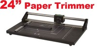 24'' Rotary Paper Cutter and Trimmer. stock in USA now