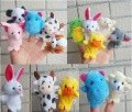 50% shipping off Christmas gifts 100 pcs/lot Animal Finger Puppets finger doll finger puppet(China (Mainland))