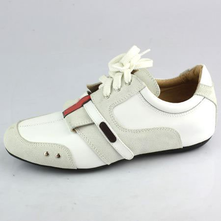 Free shipping (minimum:1piece) genuine leather sport shoes, Wholesale and Retail sport shoes 803(China (Mainland))