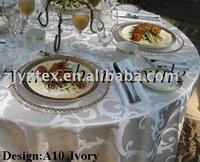 damaskTable cloth/polyeser table cloth/spandex table cloth and chair cover