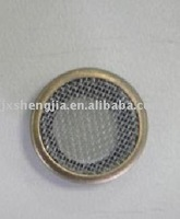 brass meshed eyelet for curtain etc. 1000pcs 15mm in brass and 5000pcs 25.4mm in nickel