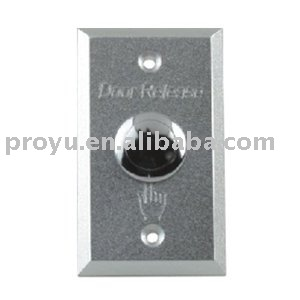 door open button, aluminum alloy  for access control system  PY-DB4