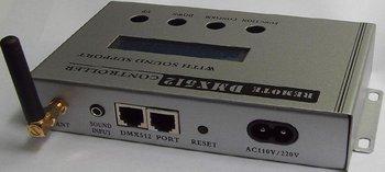 DMX master controller;AC110V/220V input;DMX 512 signal output,with IP editon function,max control 170pcs pixel