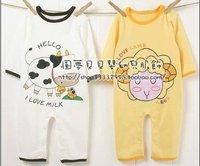 infant cotton romper baby climb clothes infant garment