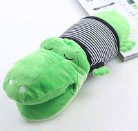 35 x 12cm Plush Toys/ Crocodile Doll Pillow As Children's Kids' Gift 10 pcs/lot+Gift&Free Shipping