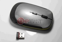 Free shipping! Ultrathin wireless mouse, New fashion, 2.4GHz, 10m, Gray