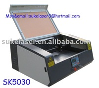 Laser Engraving Machine on glass with 40w laser tube