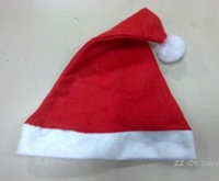 Discount Christmas hat,  fashion Santa Claus hat, 20pcs/lot wholesale+Free shipping