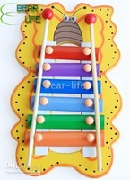Colored Wooden Musical Toy NEW ,20pcs/lot Happy Xylophone Brightly