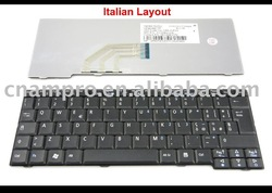 New Laptop keyboard for Acer Aspire One 531H D150 D250 P531 AOA150 ZG5, Emachines EM250 Black IT* Version (NSK-AJE0E)(China (Mainland))