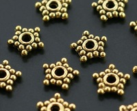800 pcs/lot alloy bead caps Free shipping wholesale