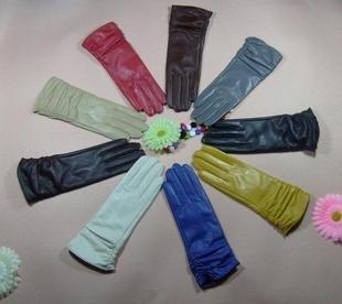 Luvas de couro Ms. longas, luvas de couro especiais / alto grau de envio livre Maijiu Canção Expo Souvenirs(China (Mainland))