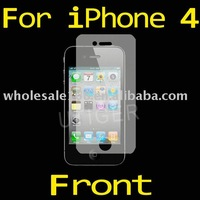 20pcs/lot! 3xClear Screen Protector For iPhone 4 with Retail Package!