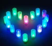 LED COLOR Changing Candle For Christmas/Wedding/Holiday 20pcs/lot +Gift & Free Shipping