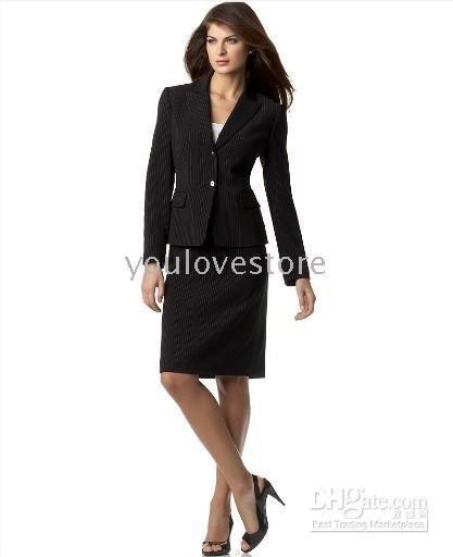 Black Women Suit Women Suit Jacket Amp Skirt