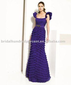 Square neckline corset  floor length fashion design formal evening dress,popular  evening dress ,