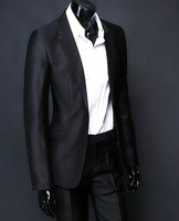 High quality silk fabrics BRAND NEW men's A single-breasted one suit clothing + suit pants clothing size: XS S M L XL XXL