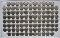1000pcs per lot CR1220 1220 DL1220 3V Lithium Button Coin Cell Battery