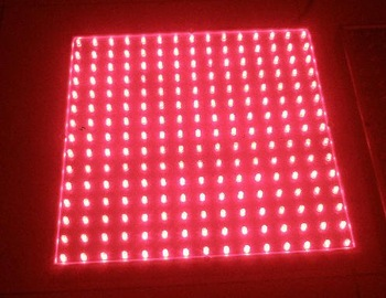 225 LED GROW LIGHT PANEL ALL RED HYDROPONIC 15W,free shipping, good qualtiy